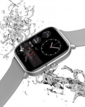 Смарт-годинник c вимірюванням температури Smart Watch I18 Grey
