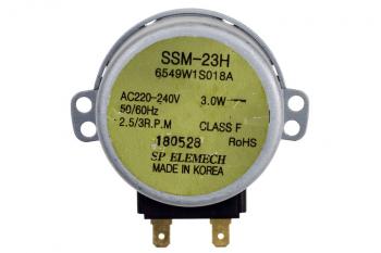 Двигун піддону для мікрохвильової печі SSM-23H LG 6549W1S018A