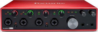 Аудіоінтерфейс Focusrite Scarlett 18i8 (3Gen)