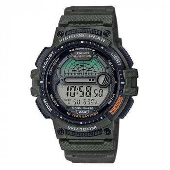 Чоловічі годинники Casio WS-1200H-3AVCF для риболовлі