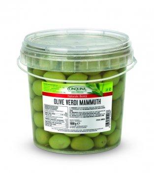 Оливки Cinquina Mammuth 1 кг