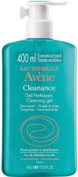 Очищающий гель для лица и тела Avene Cleanance 400 мл (3282770100259)