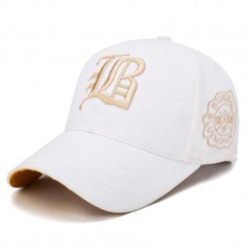 Белая кепка Narason 6423 57-60 цвет белый