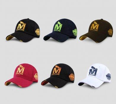Мужская кепка Narason 5115 57-60 цвет красный