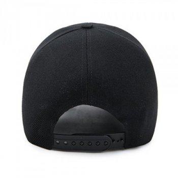 Рэперская кепка для девушки Narason 6391 57-60 цвет черный