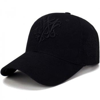 Стильная бейсболка Narason 6503 57-60 цвет черный