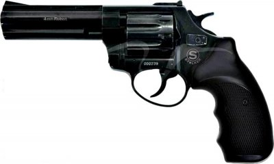 Револьвер под патрон Флобера STALKER 4.5'' S черн. рук.