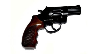 "Револьвер под патрон Флобера STALKER 3"" S коричн. рук."