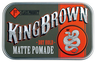 Матова помада для укладання волосся King Brown Matte Pomade 75 г
