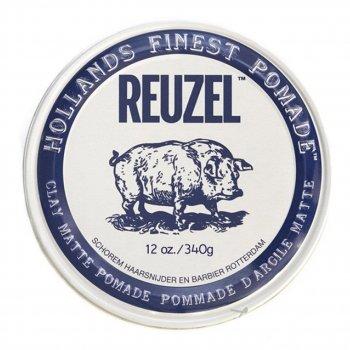 Глина для укладання волосся Reuzel Matt Clay 340 g