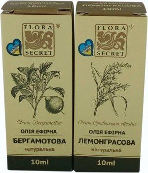 Эфирные масла Flora Secret Пара цитрусовых 10 мл х 2 шт (4820112080396)