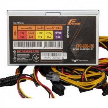 Блок питания Frime 600W (FPO-600-12C OEM)