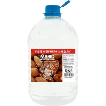 Жидкое крем-мыло MARIO 5л Миндаль