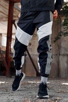 Рефлективные Пушка Огонь спортивные штаны Split Reflective Белый (8043108)