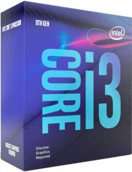 Процессор Intel Core i3-9100F 3,6 GHz 6Mb, Coffee Lake, 65W, S1151 (BX80684I39100F) Box