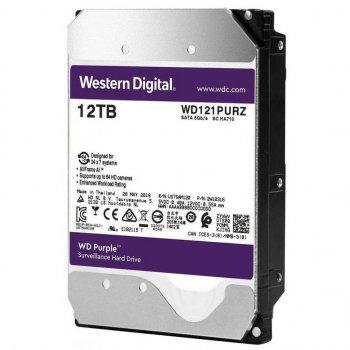 """Жорсткий диск 3.5"""" 12Tb WD WD121PURZ Purple"""
