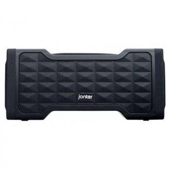 Портативная беспроводная Bluetooth колонка Jonter M91 24Вт Black с влагозащитой IPX5 (M91)