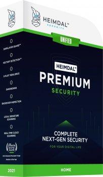 Антивирус Heimdal Premium Security Home 3 dev