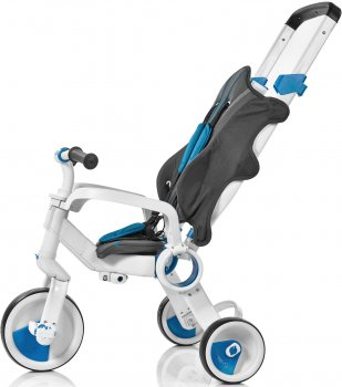 Трехколесный велосипед Galileo Strollcycle Синий (G-1001-B) (9506000120911)