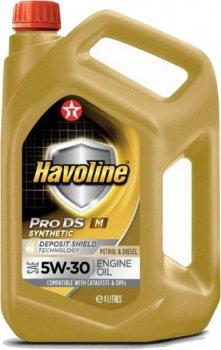 Моторна олива Texaco Havoline ProDS M 5w-30 4 л