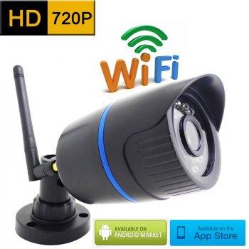 WiFi / IP камера BESDER 6024PB-HX101 720P (Black)