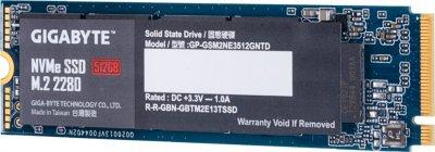 Gigabyte 512GB M.2 2280 NVMe PCIe 3.0 x4 NAND TLC (GP-GSM2NE3512GNTD)