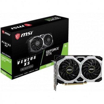 MSI GeForce GTX 1660 VENTUS XS 6G OC (GTX 1660 VENTUS XS 6G OC)