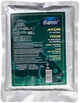 Тунец Diamir в собственном соку 650 г (8436033874455)