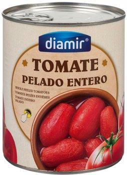 Томаты целые Diamir очищенные 1 кг (8436007950574)
