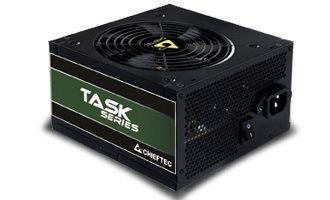 Блок питания Chieftec TPS-600S, ATX 2.3, APFC, 12cm fan, Bronze, RTL