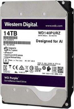 Накопитель HDD SATA 14.0TB WD Purple 7200rpm 512MB (WD140PURZ)