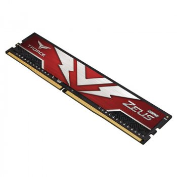 Модуль памяти DDR4 2х8GB/3200 Team T-Force Zeus Red (TTZD416G3200HC20DC01)