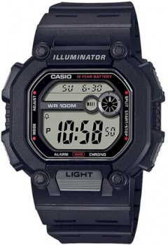 Мужские наручные часы Casio W-737H-1A