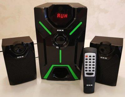 Акустическая система Bluetooth 2.1 25 Вт ZXX ZX-4805BT с сабвуфером USB SDcard подсветка