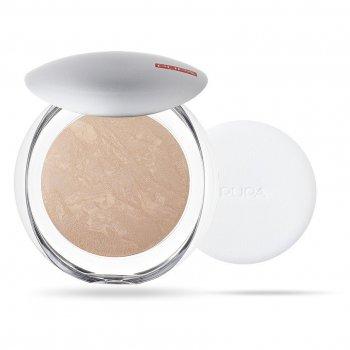 Пудра компактная запеченная Pupa Luminys Baked Face Powder №05 (Янтарный свет)