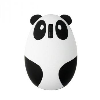 Бездротова bluetooth миша Панда з вбудованим акумулятором Chyi Біла з чорним