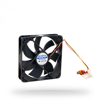 Вентилятор Chieftec Thermal Killer AF-1225S (2650об/мин, 29 дБ, 3pin/4pin (MOLEX), 120x120x25) Б/У