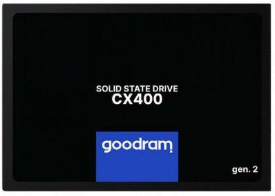 SSD внутренние GOODRAM CX400 256GB GEN.2 SATAIII TLC (SSDPR-CX400-256-G2)