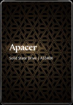 SSD внутренние APACER AS340X 120GB SATAIII 3D NAND (AP120GAS340XC-1)