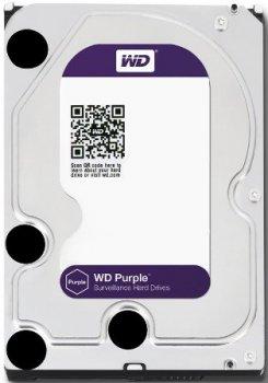 ЖОРСТКИЙ ДИСК WESTERN DIGITAL PURPLE 4TB (WD40PURZ) 5400RPM, 64MB