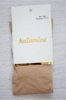 Колготки Katamino 134-140 / 9-10 лет см Бежевый (8680652354335)