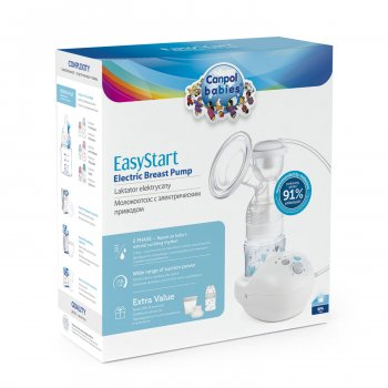 Молоковідсмоктувач Canpol babies EasyStart електричний (12/201)