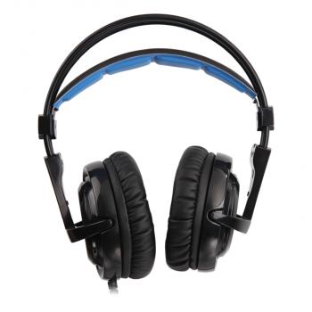 Навушники Sades SA-904 Locust Plus RGB 7.1 Virtual Surround Black (sa904bku)