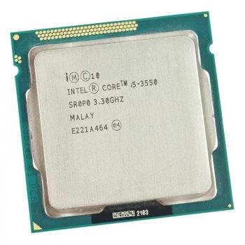 Процессор s1155 INTEL CORE i5-3550 3.3 GHz/5GT/s/6MB ( 3,7 GHZ TURBO BOOST ) LGA1155 Tray Б/У