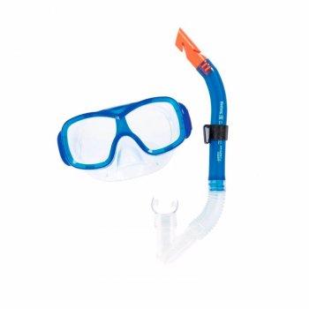 Набор для плавания трубка и маска для мальчика от 7 лет Bestway 24032 Синий (int_24032BW-1)