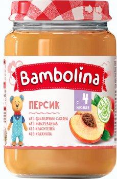 Упаковка пюре Bambolina Персик 190 г х 12 шт. (4813163001922)