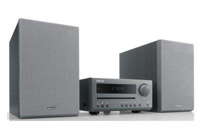 CD минисистема с Bluetooth Denon DT1 Gray