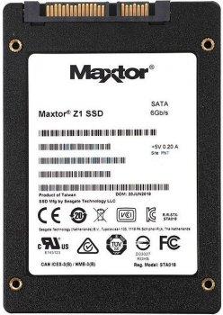 """Seagate Maxtor Z1 SSD 240GB 2.5"""" SATAIII (YA240VC1A001)"""