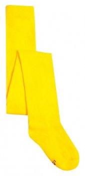 Дитячі колготи однотонні Duna жовті 86-92 см 489