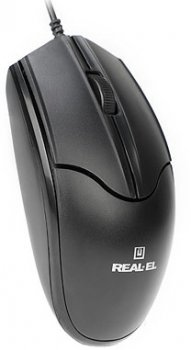 Миша Real-El RM-410 Silent USB Black (EL123200025)